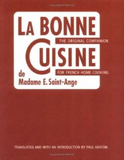 La bonne cuisine de Mme St Ange