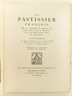 Le Pâtissier François
