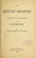 The Kentucky Housewife