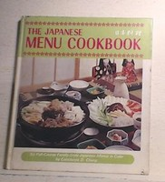 Japanese Menu Cookbook
