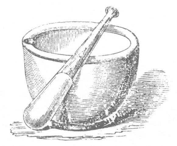 Wedgewood Pestle and Mortar.